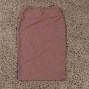 Skirt Nude/Pink Nude